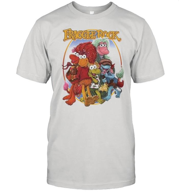 Fraggle Rock Group hug shirt