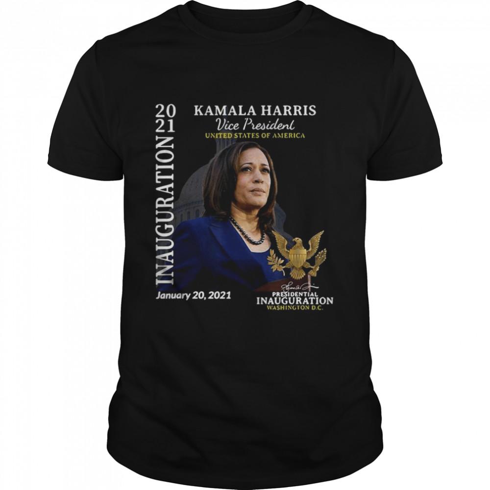 Kamala Harris 2021 Inauguration Day Commemorative Souvenir shirt