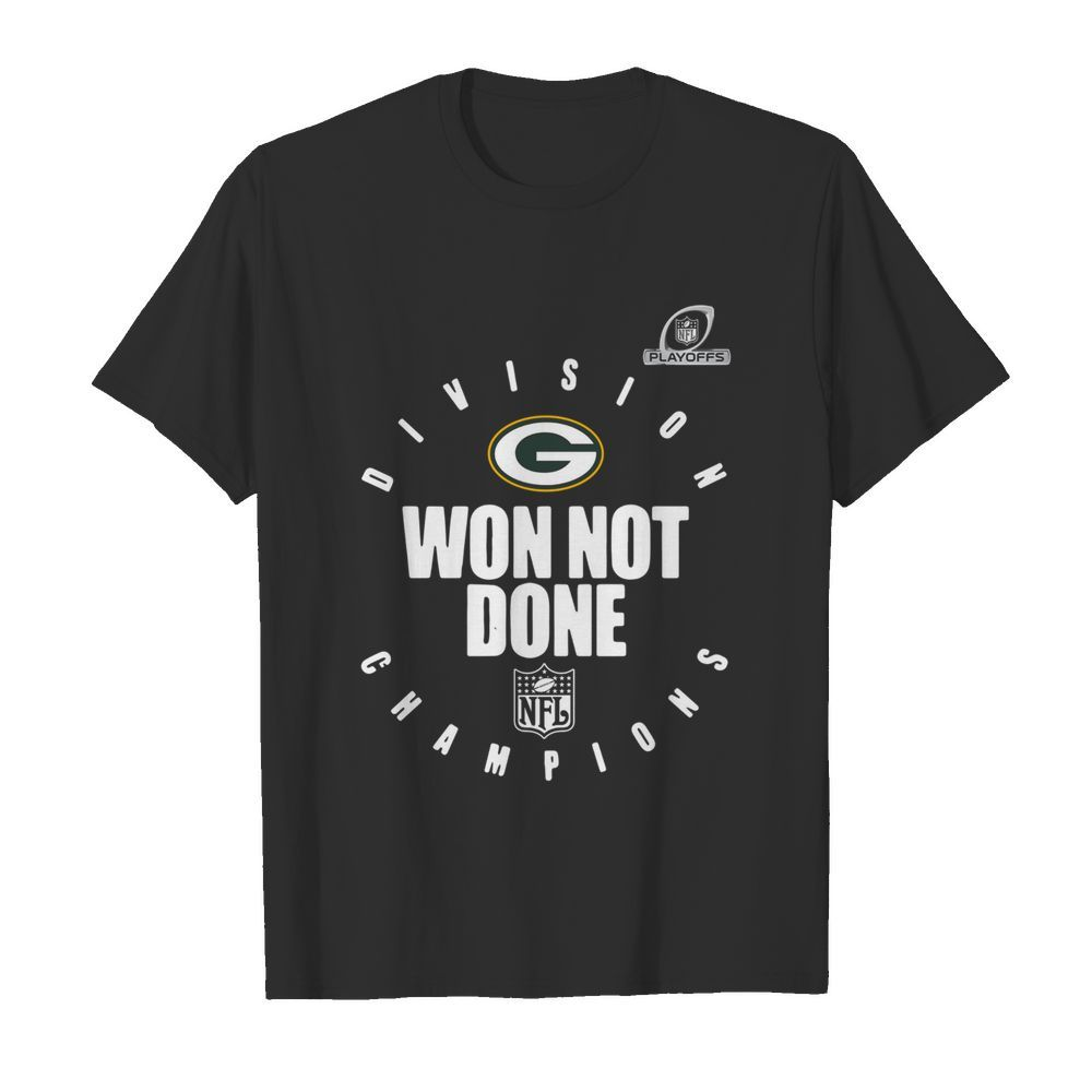 Bay Packers Champions 2020 Won Not Done shirt
