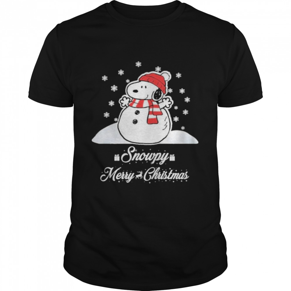 snowpy merry christmas sweater christmas snoopy peanuts shirt