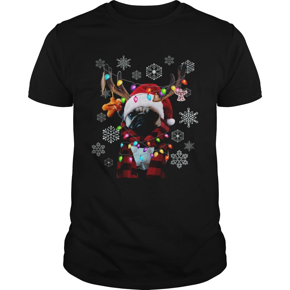 Pug Christmas Dog Owner Pug Christmas shirt
