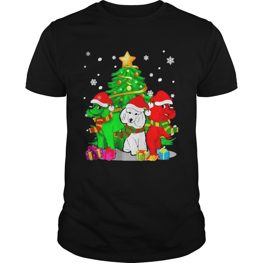 Santa Poodle Dogs Christmas 2020 shirt