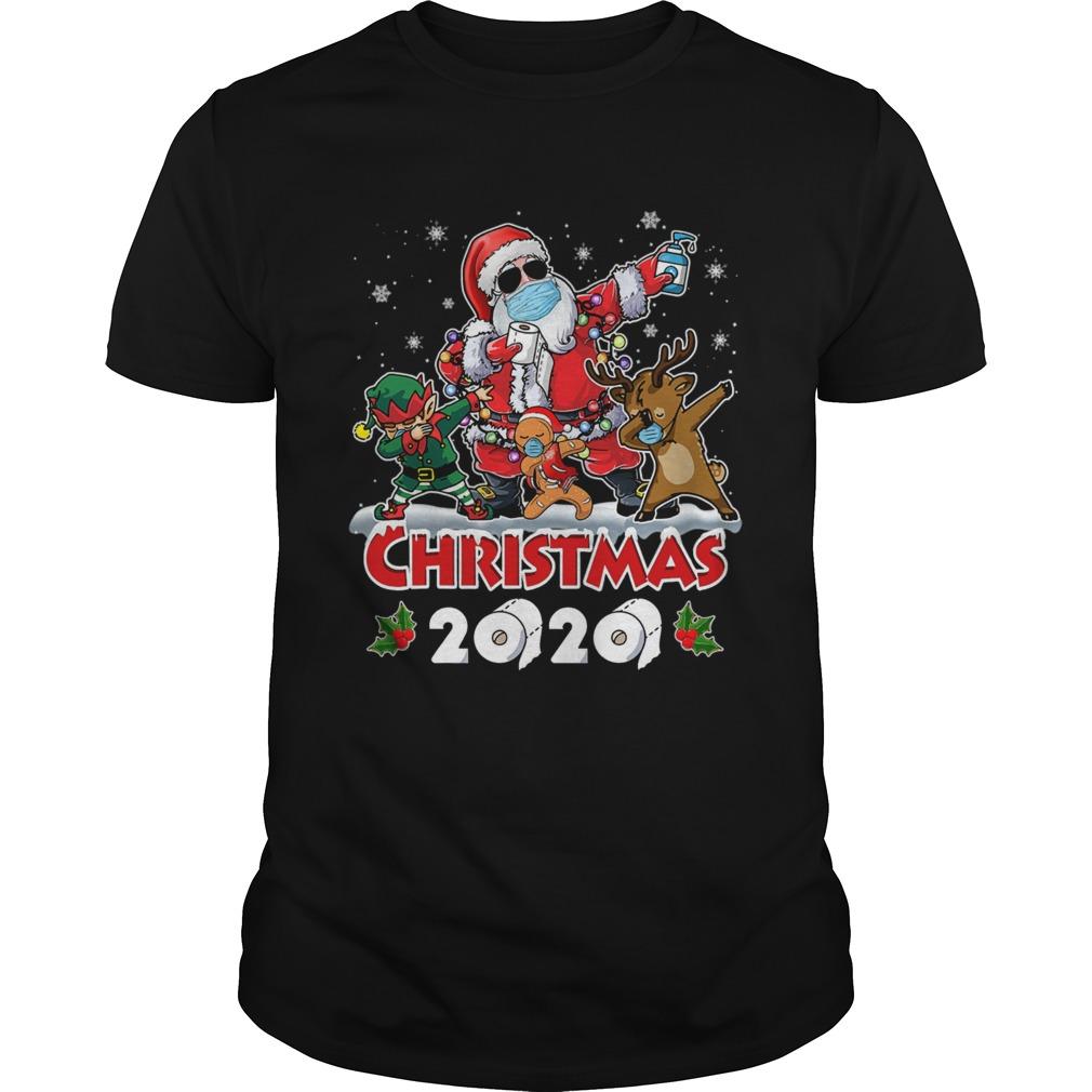Santa And Friends Wearing MaskNew Christmas 2020 shirt