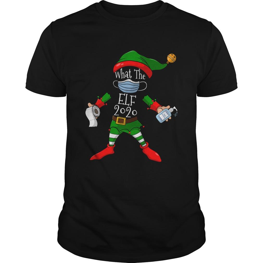 What the elf 2020 funny christmas matching pajamas family shirt