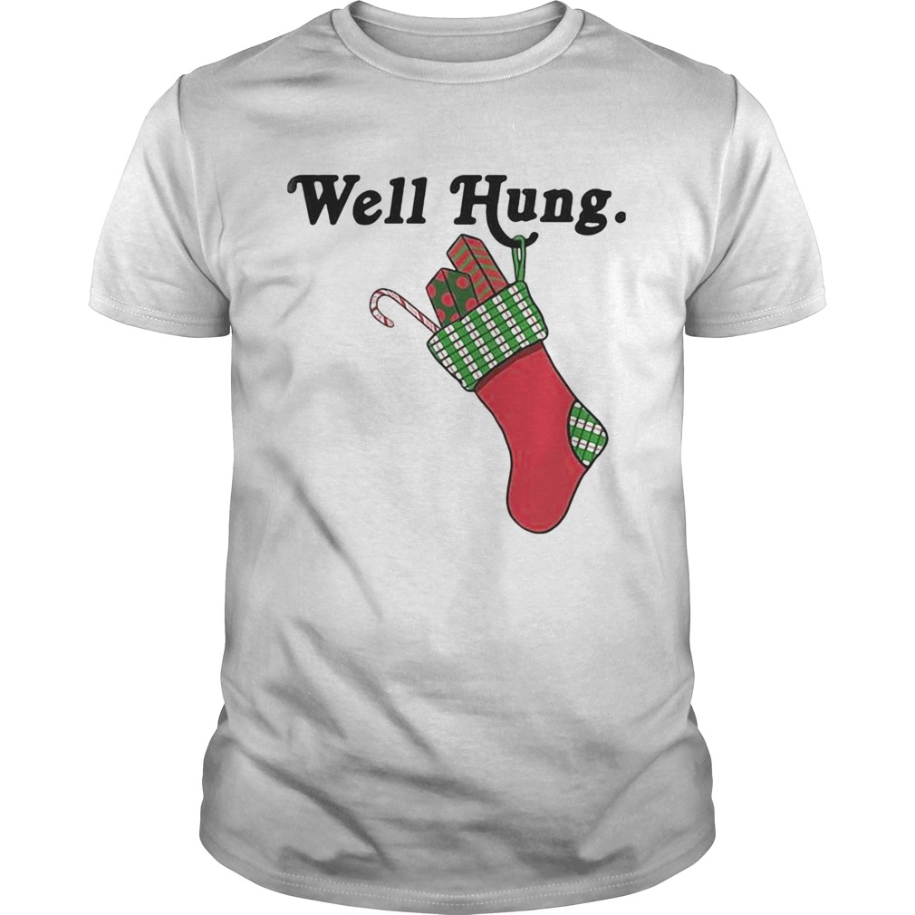 Sock Well Hung Christmas shirt