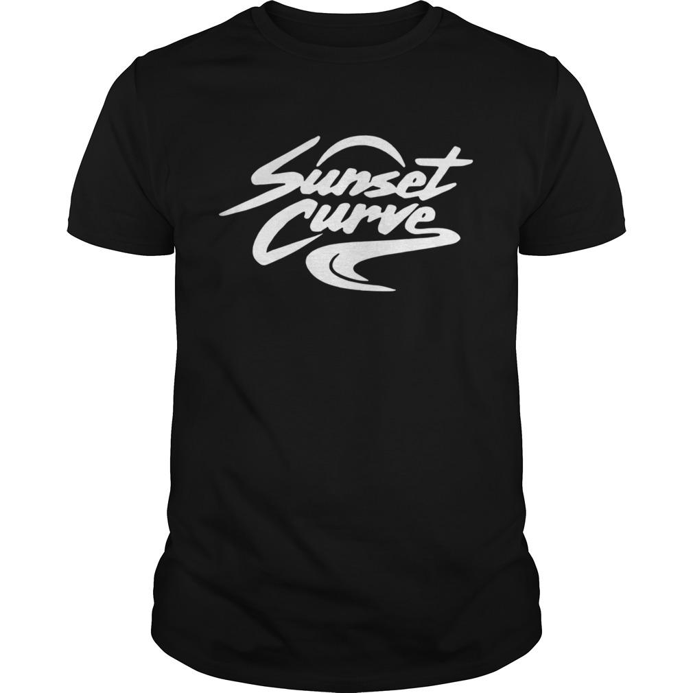 Sunset Curve shirt