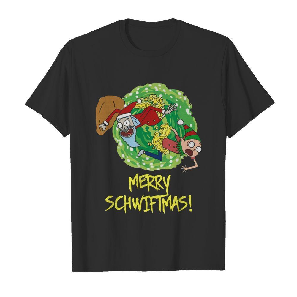 Rick And Morty Merry Swiftmas Christmas shirt