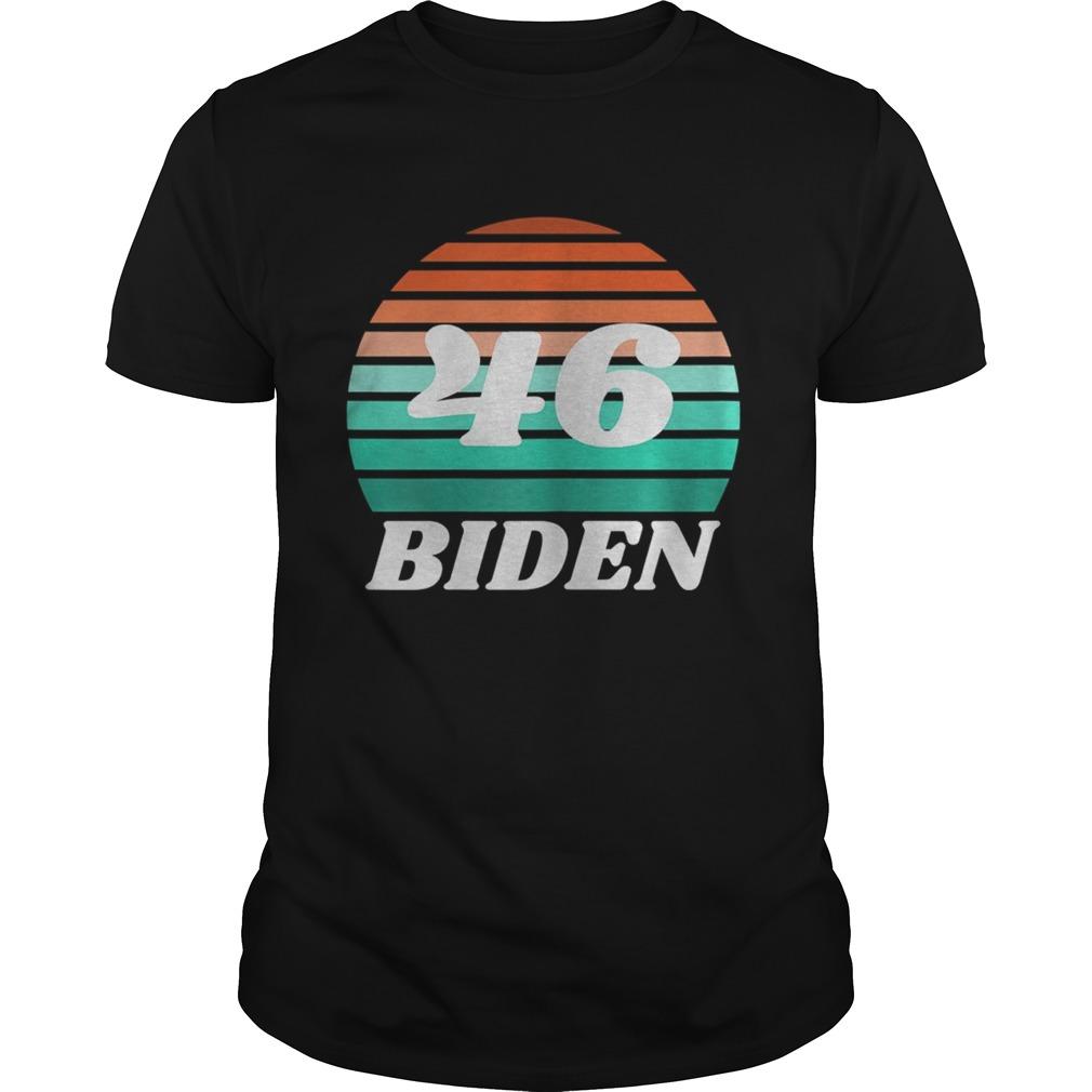 46 Biden Vintage Retro shirt