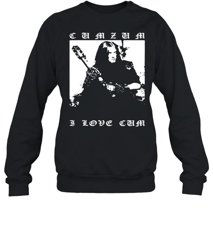 Vag Dickerne Cumzum I Love Cum shirt Unisex Sweatshirt