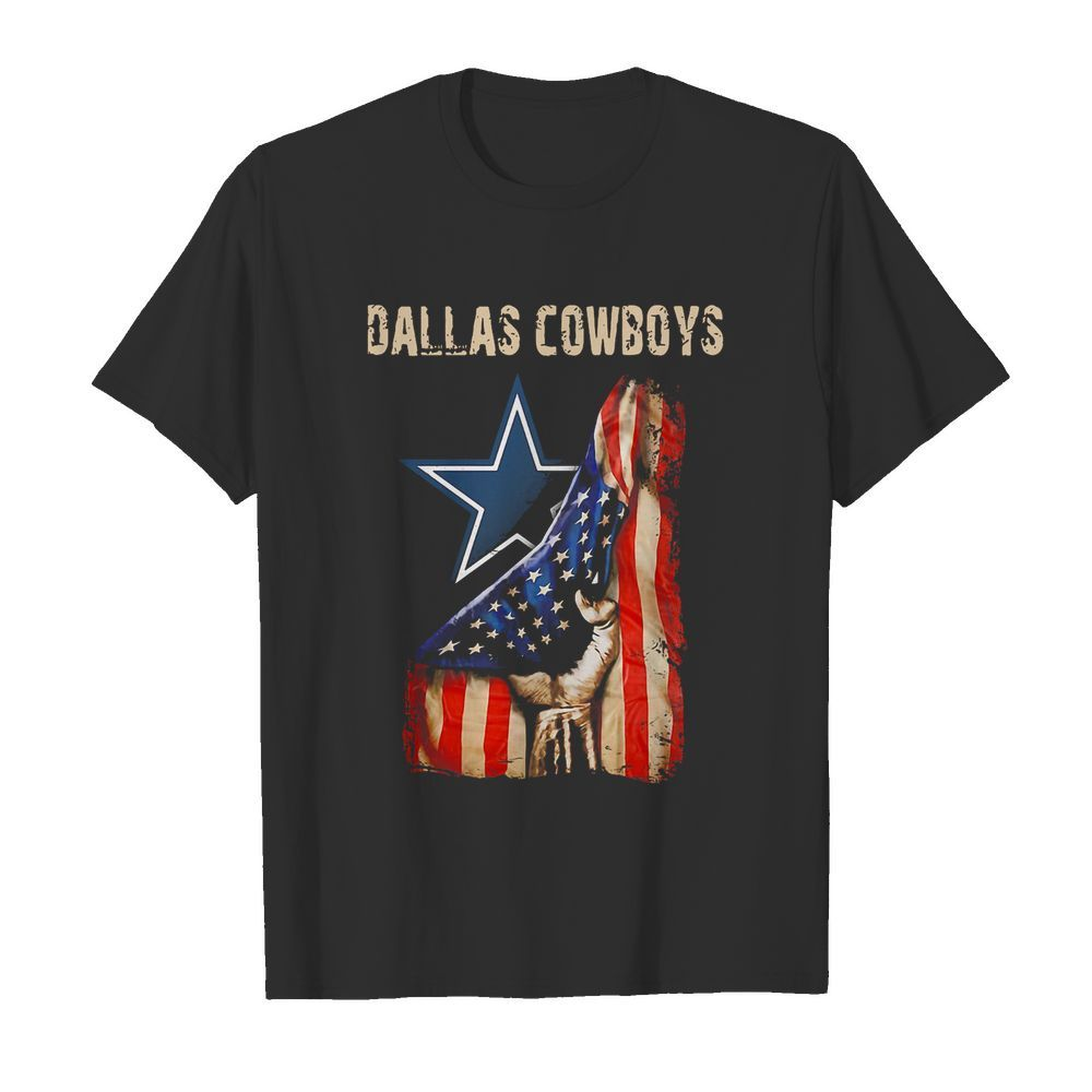 Dallas Cowboys American Flag Independence Day shirt