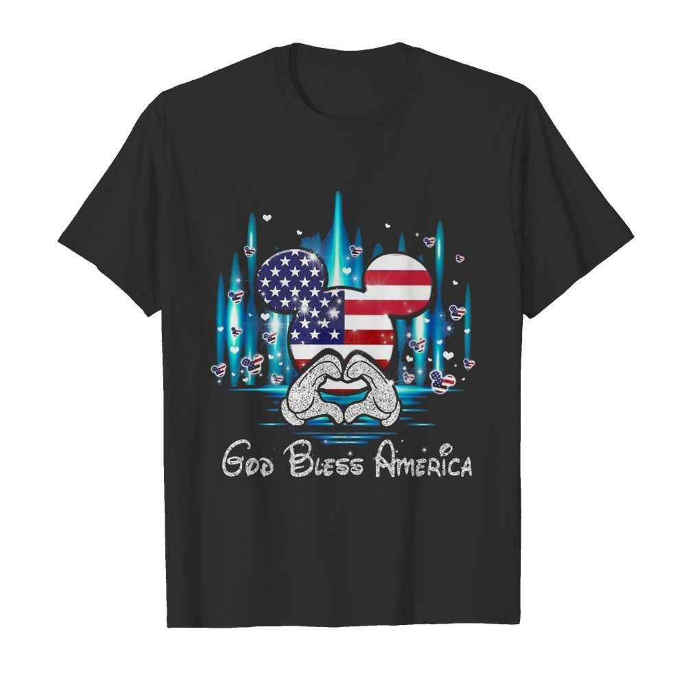 God Bless America Independence Day shirt