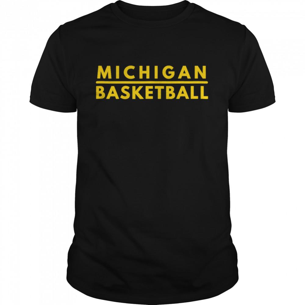 Michigan MI Athletics Basketball Shirt