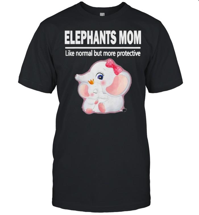 Elephant Baby Elephant Mom Shirt