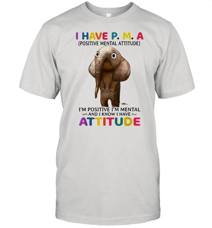 I Have P.M.A I'm Positive I'mtals Shirt