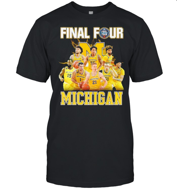 2021 Men's Basketball Final Four Michigan shirt