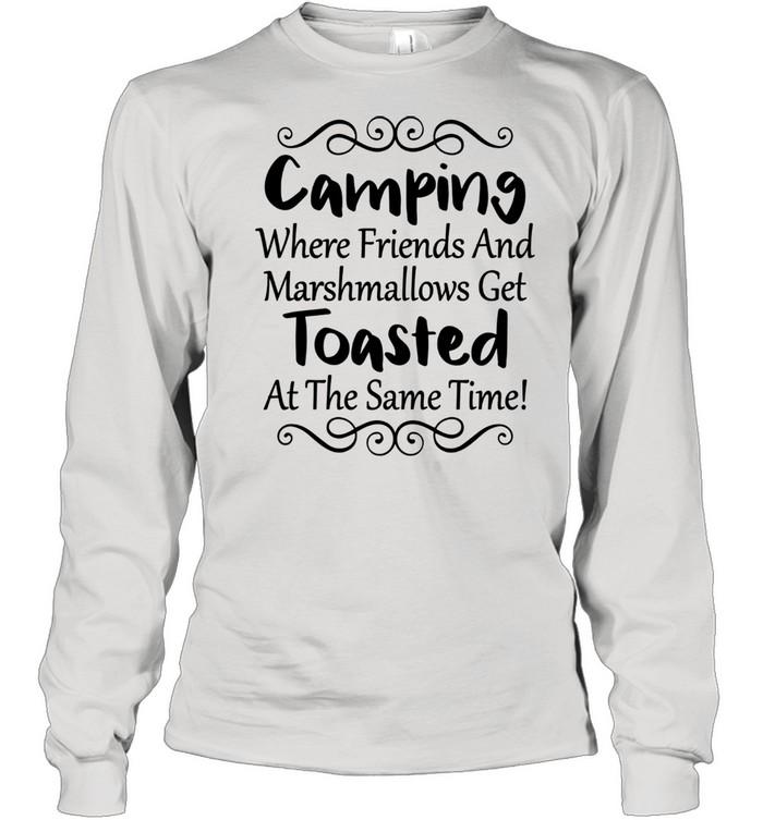 Outdoor Camping Friendss Travel ư Long Sleeved T-shirt