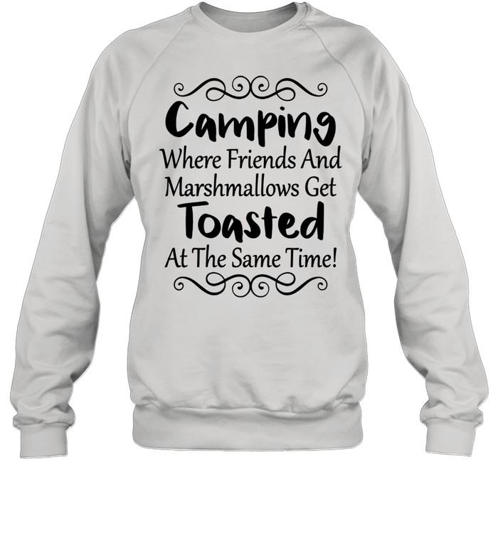 Outdoor Camping Friendss Travel ư Unisex Sweatshirt