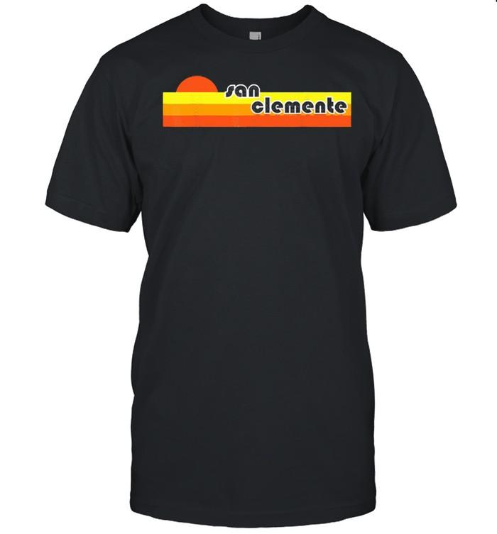 San clemente retro shirt