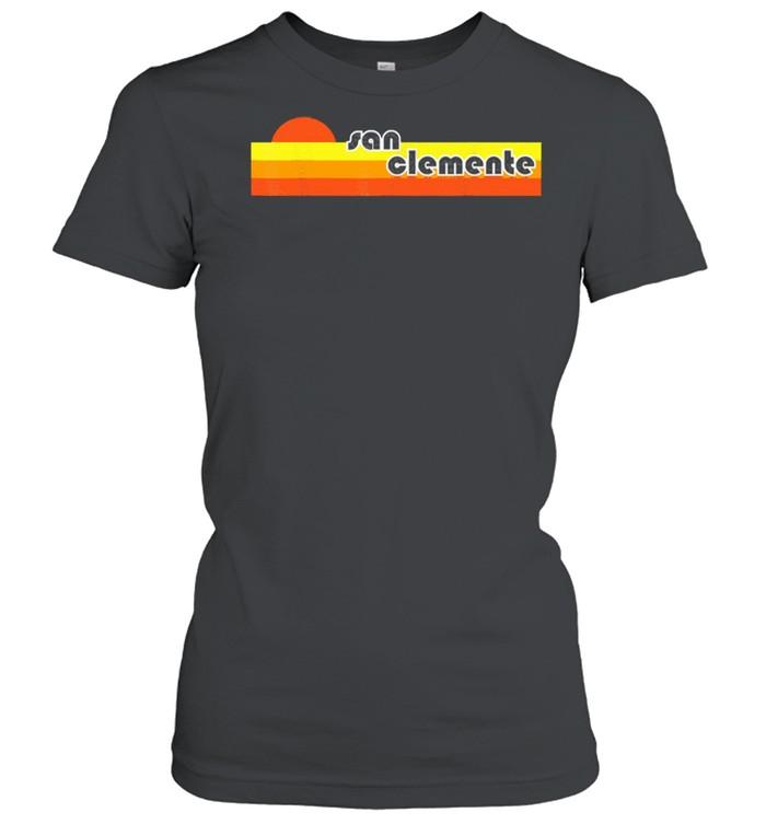 San clemente retro shirt Classic Women's T-shirt