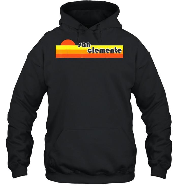 San clemente retro shirt Unisex Hoodie
