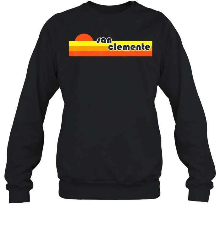 San clemente retro shirt Unisex Sweatshirt