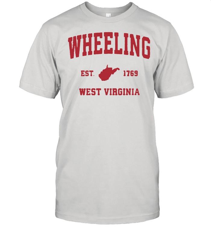 Wheeling West Virginia 1769 WV Vintage Sports T-Shirt